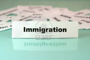 10898173-piece-of-paper-with-immigration-sign-or-word-on-it